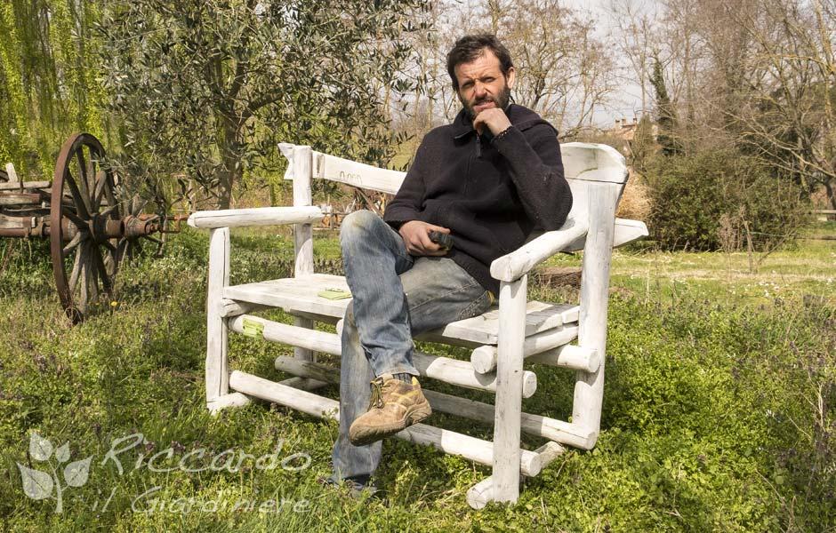 Riccardo Il Giardiniere, Giardinaggio e arredamento giardino