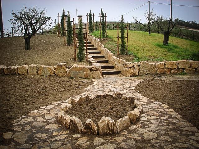 Camminamenti e scale, Riccardo il Giardiniere