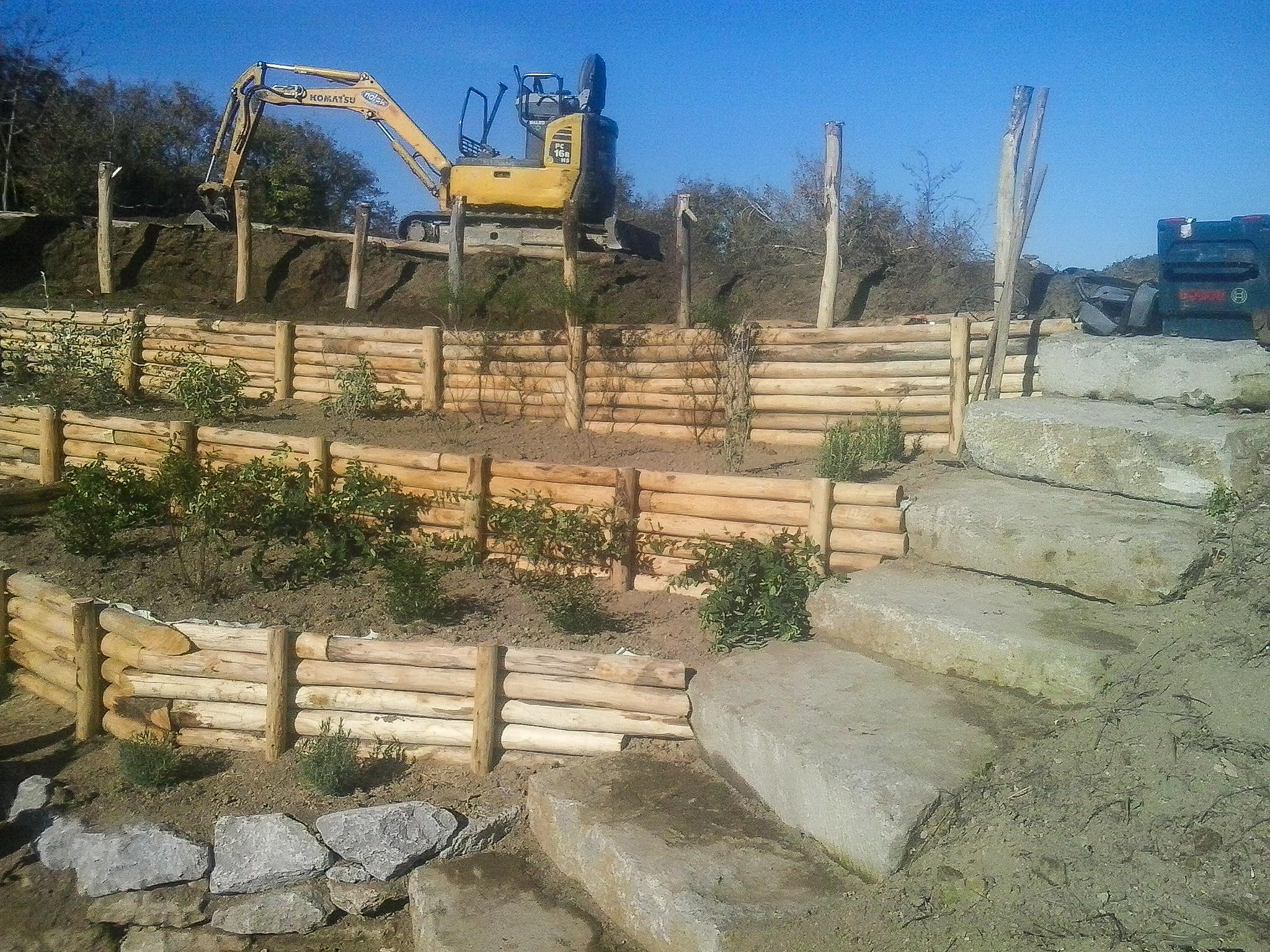 Muri e contenimento, Riccardo Il Giardiniere