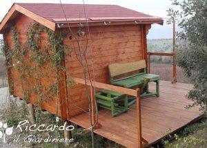 Casetta di legno. Riccardo il Giardiniere