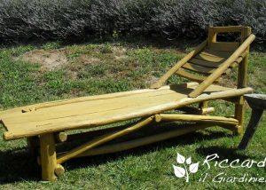 Sdraio di legno fatta a mano, Riccardo il Giardiniere