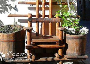 Sedia con vasi, Riccardo il Giardiniere