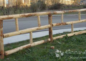 Staccionata legno